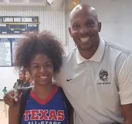 Hastings High School student participated in the Texas Girls Coaches Association All-Star Basketball Game this past summer.
