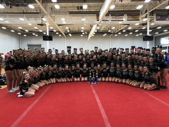 Gators of the Week:  MGM, JV and Varsity Competitive Cheer Shine In Spartanburg