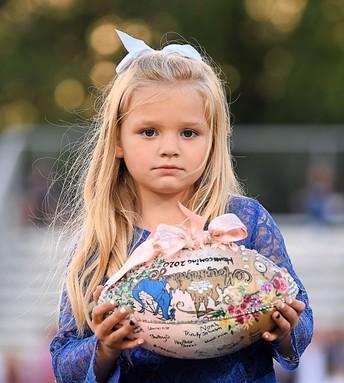 Brinley Jarrett, daughter of Michael and Shyann Cantrell, Rick Jarrett