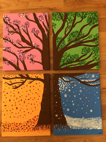 Painting for All Seasons  Gr 1 & 2