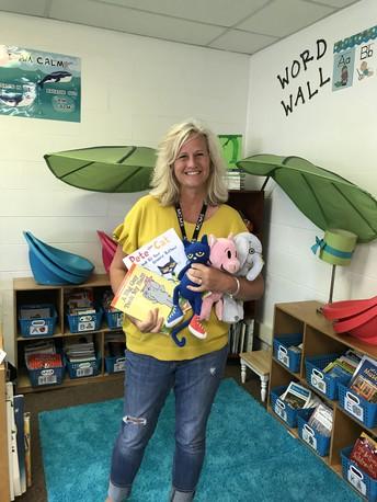 Congratulations                                              Mrs. Gunderson!