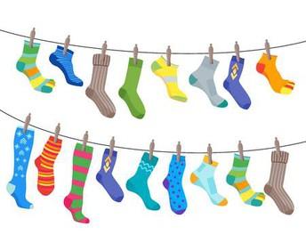 Spirit Week - Crazy Socks!