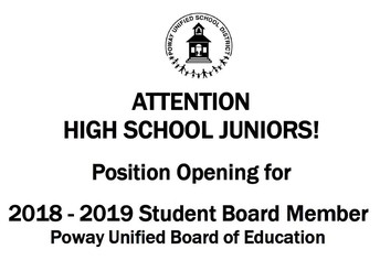 Student Board Member Applications