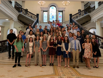Civics students from MRHS sweep Project Citizen awards