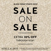 THE BLACK FRIDAY SALE IS ON AND IT'S GETTING HOTTER BY THE DAY!