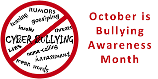 A Note from the Counselor - Ms. Crouse - National Bullying Prevention Month