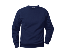 Navy Sweatshirt with Logo