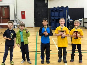 2nd Grade Division Winners