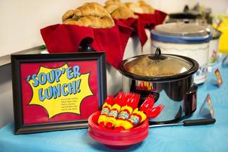 Soup-er Dinner for Our Super Teachers