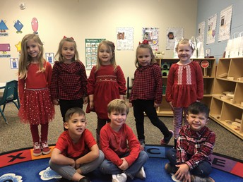 Color Day - Red Day!