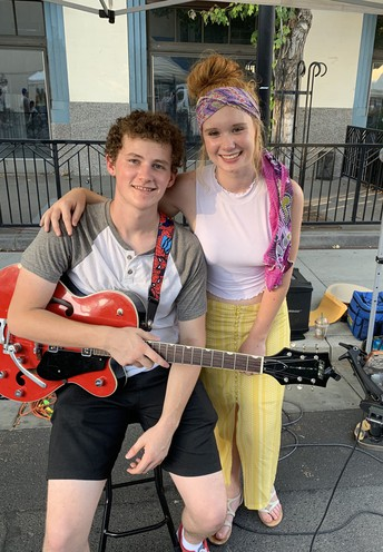 EMMA & WILL PERFORMING THURSDAY, AUG 13th AT 7 PM
