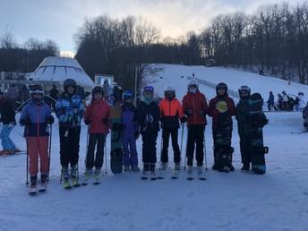 Ski Club enjoying the slopes...