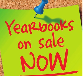 Yearbooks on Sale  $12.00