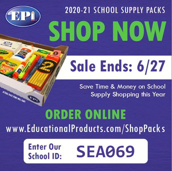 SEALY ELEMENTARY School Supply Sale for 2021-2022