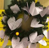 Ms. Jones' grade 3B classroom Advent Wreath