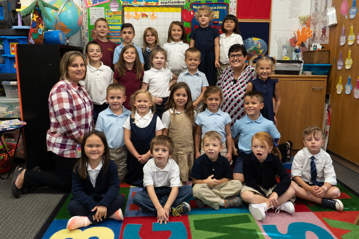 1st day kindergarten for Mrs. Melero's Class