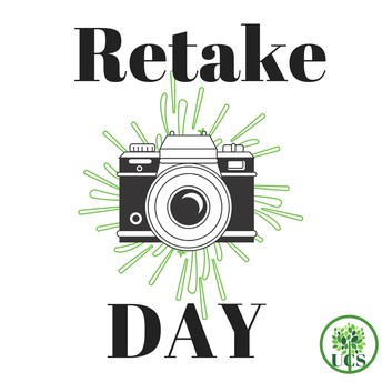 Picture  Retake Day- Friday, October 4th