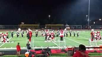 Band & Cheer performing