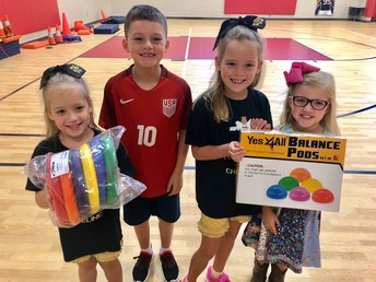 Students are excited for PE!