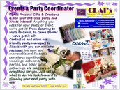 Events & Party Packages & Other Services