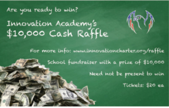 $10,000 Raffle WILL be drawn at Casino Night!