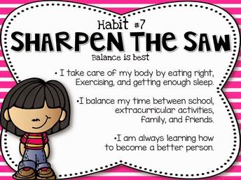 Sharpen The Saw Habit #7
