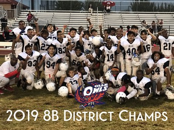 8b Co- District Champions