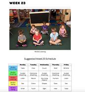 Mindful Classrooms--Week 23
