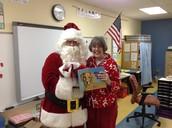 Santa and Mrs. Pond
