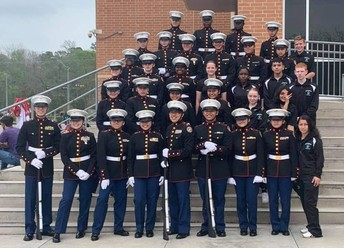 MCJROTC Going to National Competition Brenham ISD