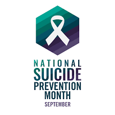 logo for Suicide Prevention Month
