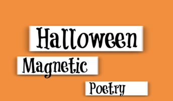 Halloween Magnetic Poetry