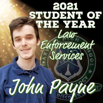 John Payne, Law Enforcement Services SOY