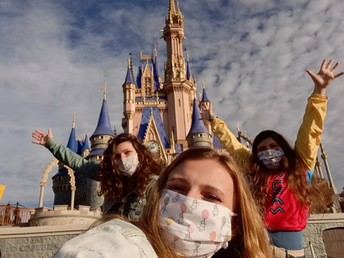Mrs. Margie's girls at Walk Disney World