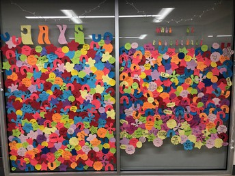 Student Council: Jays Wall of Positivity