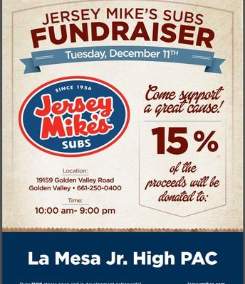 Jesery Mikes Restaurant Fundraiser