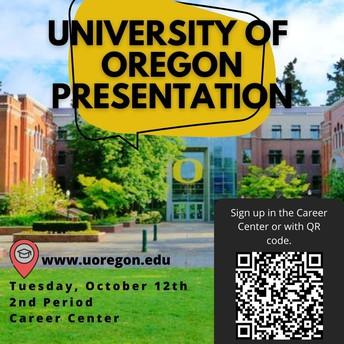University of Oregon Presentation