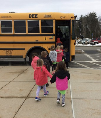 Our Preschool Friends are off!