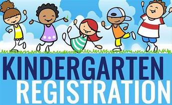 Kindergarten Registration for Next School Year 2021-22