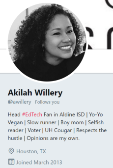Akilah Willery