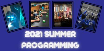 Summer Programming Catalogs & Registrations