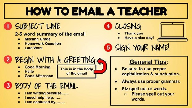 Some helpful basics on email since we are relying more on email and virtual connections.
