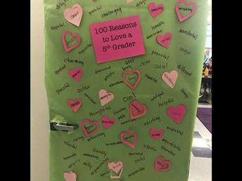 100 Reasons to love a 5th grader!