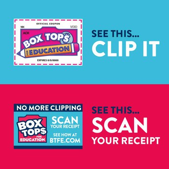 Start Getting Credit for Box Tops Virtually!