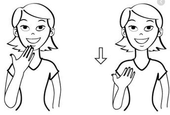 Sign Language Club with Mademoiselle Mishinger & Ms. Lane