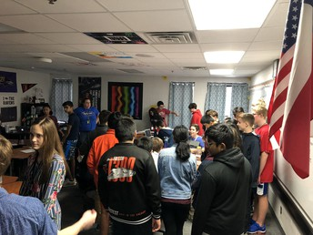 Coppell Middle School East Visit