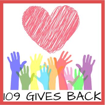 109 Gives Back!