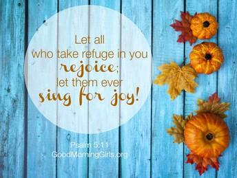 October's Trait: Joy
