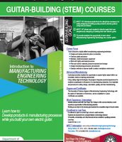 Guitar-Building (STEM) Courses at SDCC