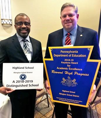 Highland Named Title I Distinguished School